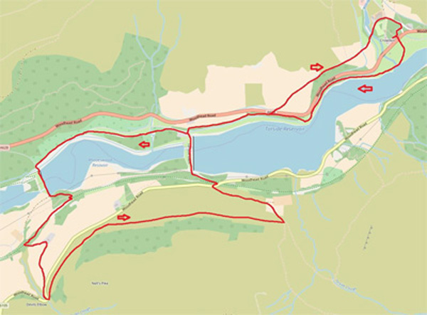 Bramah Edge map