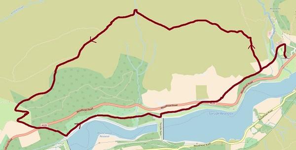 Crowden Millstone map