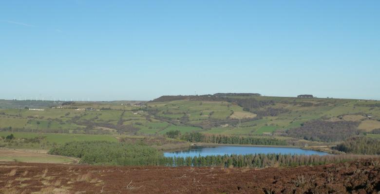 Midhope reservoir
