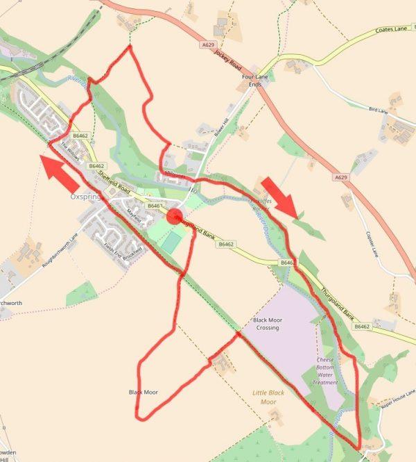 Oxspring map