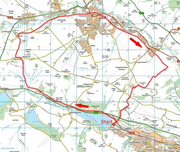 Penistone map
