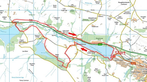 Three Reservoirs map