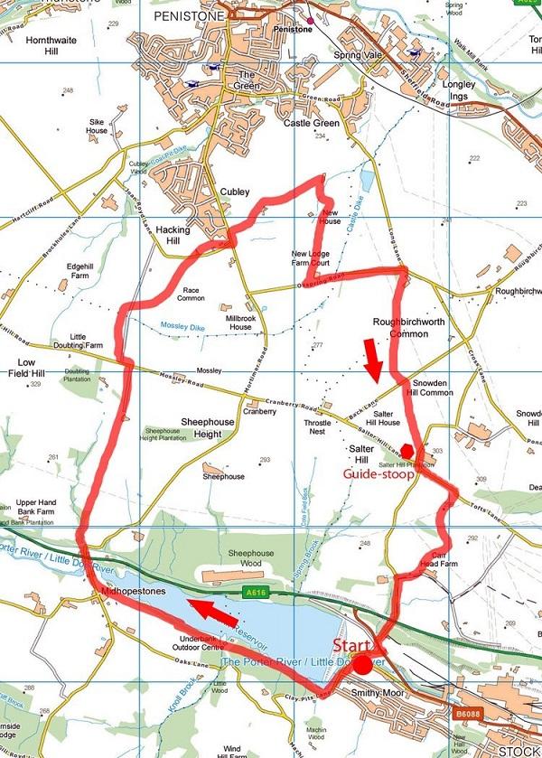 Underbank circular map