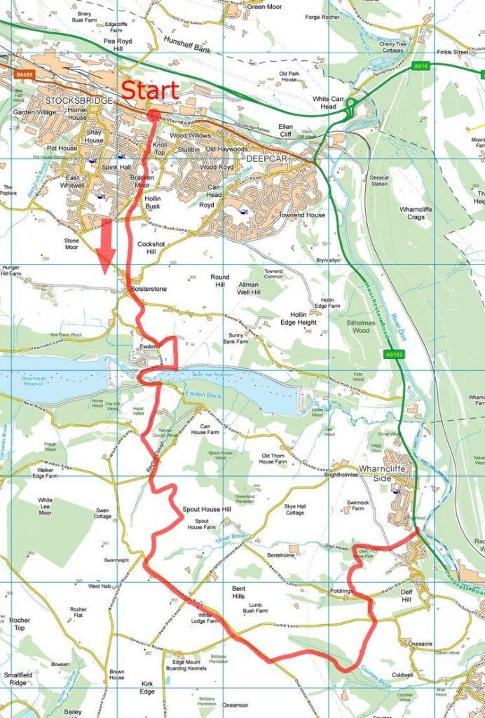 Glen Howe Park map