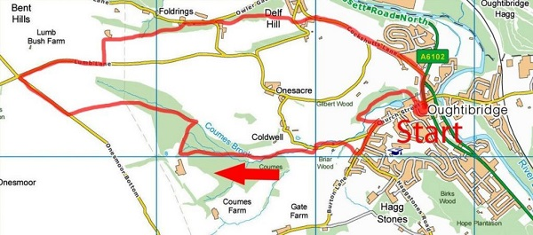 coumbes wood map