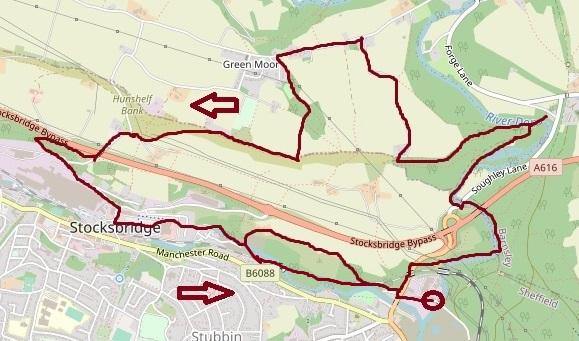 Green Moor - Fox Valley map
